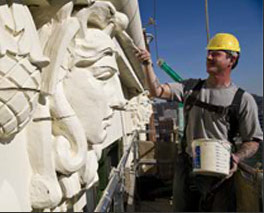 Terra Cotta Restoration On Building